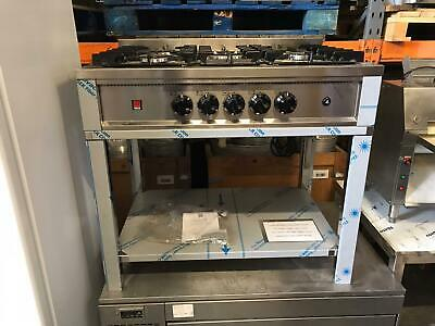 Commercial 5 Burner Gas Cooker Stainless Steel BRAND NEW • 900£