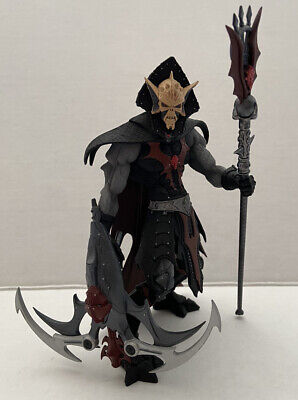 $39.99 • Buy 2005 Neca Masters Of The Universe Hordak Staction Loose W/o Stand Damaged Staff