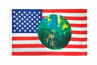 $30.29 • Buy 5 Pack USA INDIAN CIRCLE 3X5 Polyester Flag