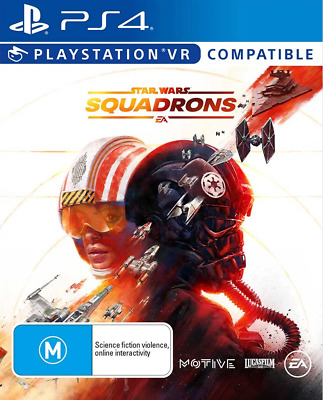 AU56.95 • Buy Star Wars Squadrons PlayStation VR, PS4 Game NEW
