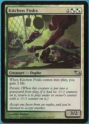 $4.59 • Buy Kitchen Finks FOIL Shadowmoor HEAVILY PLD Uncommon CARD (148731) ABUGames