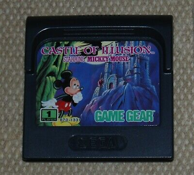 AU35 • Buy Castle Of Illusion  Starring Mickey Mouse   Sega Game Gear Game