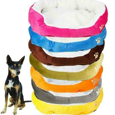 £8.99 • Buy Pet Dog Cat Bed Puppy Cushion House Soft Warm Kennel Mat Blanket Washable Kitten