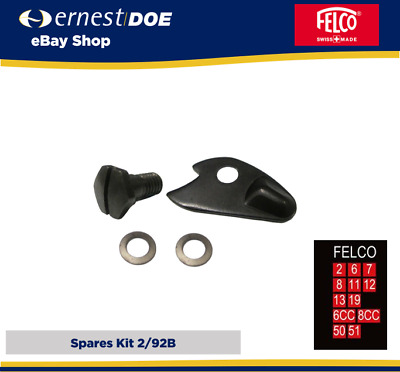 Felco 2/92B Spares Kit - New Latch Kit - Genuine Felco Spares - Felco 2,6,7,8... • 13.95£