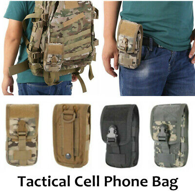 $9.49 • Buy Tactical Army Military Molle Pouch Cell Phone Pocket Case Waist Pack Belt Bag