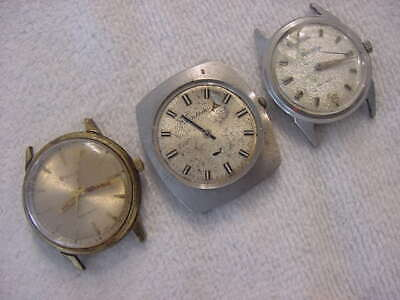 $ CDN20.09 • Buy Lot Of 3 Vintage Large Antique Art Deco BULOVA AUTOMATIC Mens Watch Watches