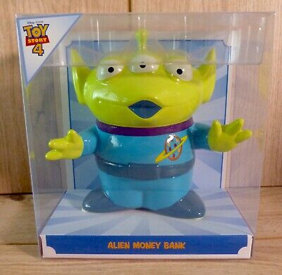 Primark Disney Toy Story 4 Alien Money Box Piggy Bank Ceramic - Brand New • 15.95£