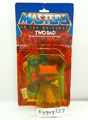 $150 • Buy MOTU, Two Bad, Masters Of The Universe, MOC, Carded, Sealed, Figure, He-Man
