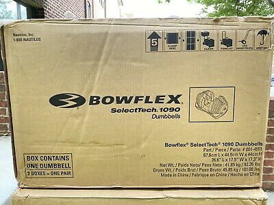 $ CDN1066.71 • Buy *SHIPS TODAY* SINGLE Bowflex SelectTech 1090 Adjustable Dumbbell 90lbs BRAND NEW