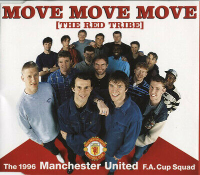 Manchester United Football Team - Move Move Move (The Red Tribe) (CD, Single) • 7.99£