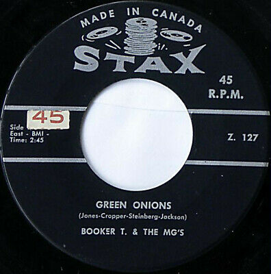 Booker T & The MG's - Green Onions / Behave Yourself (7 , Single) • 55.49£