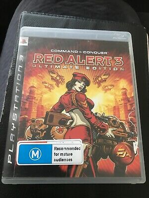 AU25 • Buy Ps3 COMMAND & AND CONQUER Red Alert 3 Ultimate Edition Complete