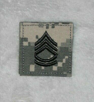 5cm X 5cm US Army SFC Sergeant First Class Rank Insignia Patch Hook And Loop • 3.99£