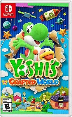 AU96.84 • Buy Yoshi's Crafted World - Nintendo Switch [video Game]
