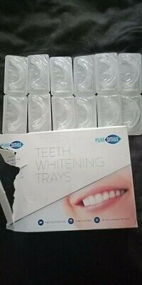 AU45 • Buy PURE SMILE Teeth Whitening Trays Includes 6 Trays ** READ DESCRIPTION**