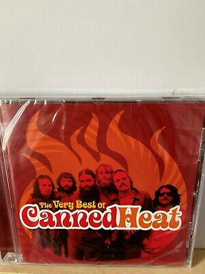 Canned Heat CD 2005 The Very Best Of 19 Tracks *NEW/SEALED* Blues Rock Bob Hite • 4.99£