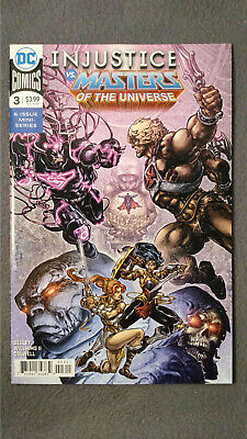 $2.95 • Buy Injustice VS. Masters Of The Universe #3 (2018) VF/NM DC Comics $4 Comb Shipping