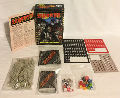Twilight Creations Zombies!!! Board Game Third Edition 2014 100% Complete • 22.99£