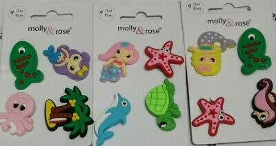 £2.49 • Buy 12 Piece Crocs Shoe Plug Charms Slippers Accessories Button Sea Life Water