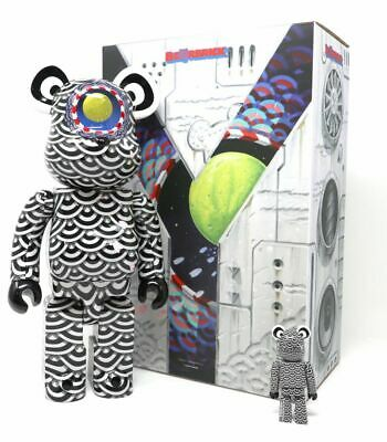 $349.99 • Buy Sasada Yasuto Ground Y 400% 100% Bearbrick Be@rbrick Medicom Toy Rare Limited