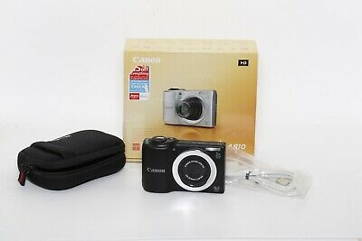 Canon Powershot A810 16.0mp 5x Zoom BOXED (473064039188) • 39.99£