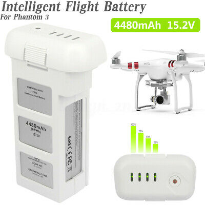 AU114.99 • Buy Intelligent Flight Battery 4480mAh 15.2V 4S For DJI Phantom 3