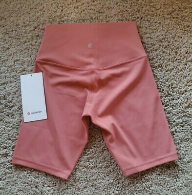 $ CDN73.43 • Buy Lululemon Align Shorts  8   Rustic Coral  Sz  4  NEW!!