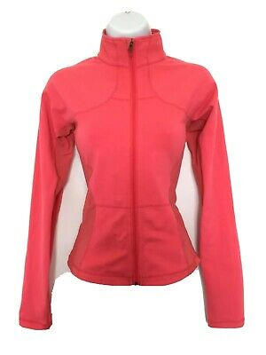 $ CDN50 • Buy Free Shipping Lululemon Shape Jacket Pink Coral Sz 6 EUC Full Zip