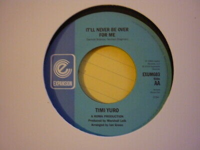 Northern Soul Timi Yuro Itll Never Be Over For Me Uk Reissue 45 Expansion  • 12£