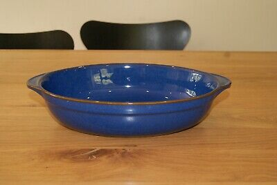 Denby Imperial Blue Large Oval Serving Dish.  • 24£