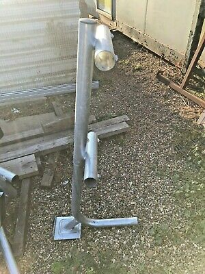 10 X Freestanding Roof Edge Protection Guard Rail Posts Galvanised Steel Light • 200£