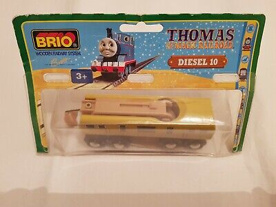 Thomas The Tank Engine & Friends BRIO DIESEL 10 WOOD TRAIN WOODEN NEW IN BOX • 59.99£