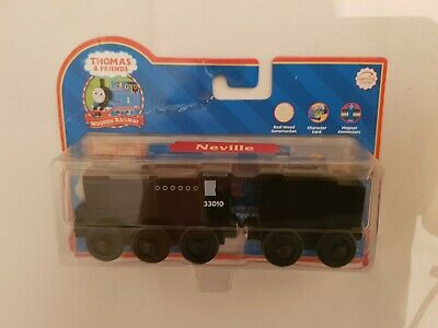 Thomas The Tank & Friends WOOD NEVILLE TRAIN WOODEN NEW IN BOX LEARNING CURVE • 39.99£