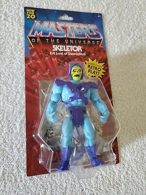$20 • Buy Masters Of The Universe Skeletor Retro Play 2020 EXCLUSIVE NIB Free Ship