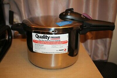Elite FAGOR 6L Plaksteel Pressure Cooker M16301514 NEVER USED READ DESCRIPTION • 105.44£