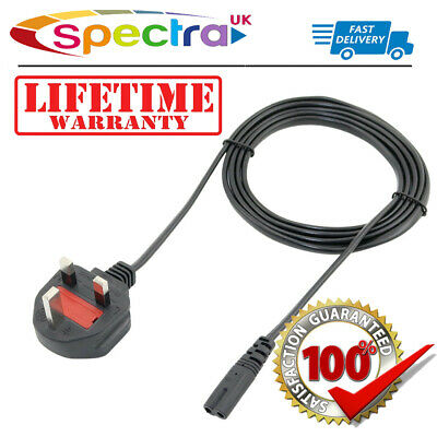 Samsung LT22B300 22  Inch LED LCD TV Television Power Cable Lead C7 UK Mains For • 9.99£