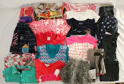 AU95 • Buy LOT X 21 Pcs Girls Clothing Sz 4-6 ~ COUNTRY ROAD Vintage ADIDAS Fred Bare Gap +
