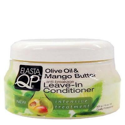 £7.19 • Buy ELASTA QP OLIVE OIL AND MANGO BUTTER LEAVE-IN CONDITIONER 15oz + TRACK DELIVERY
