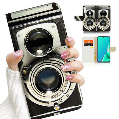 AU12.99 • Buy ( For Vivo Y12 / Y15 / Y17 ) Wallet Case Cover AJ23228 Old Camera