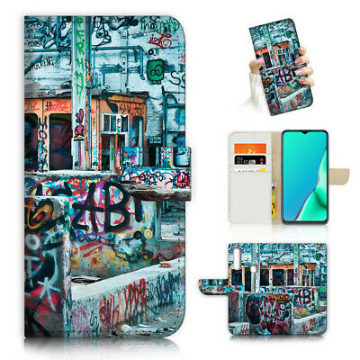 AU12.99 • Buy ( For Vivo Y12 / Y15 / Y17 ) Wallet Case Cover AJ23806 Graffiti