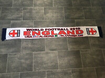 England Football Scarf - World Cup 2010 - Brand New • 1.99£