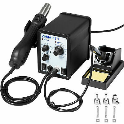 AU125 • Buy YIHUA 878 2-in-1 SMD Rework Station (Hot Air Gun And Soldering Iron)