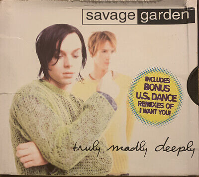AU6.25 • Buy CD: Savage Garden - Truly Madly Deeply (Single)