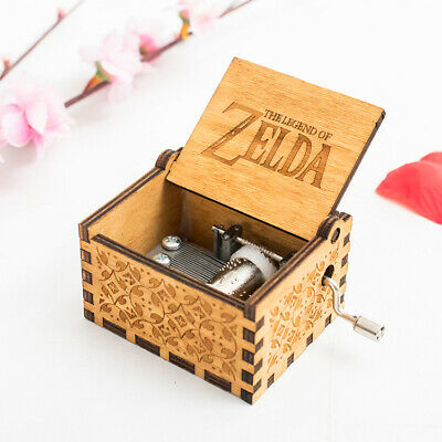 AU28.45 • Buy The Legend Of Zelda Music Box Gaming Jewellery Instrument Gift Triforce Link AUS