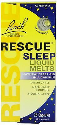 Nelsons Bach Rescue Night Remedy Liquid - 28 Melts (7012 Best Before 08/2021) • 6.75£