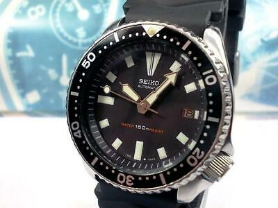 $ CDN462.69 • Buy Seiko 7002-700A Vintage Diver Stainless Steel Automatic Mens Watch Auth Works
