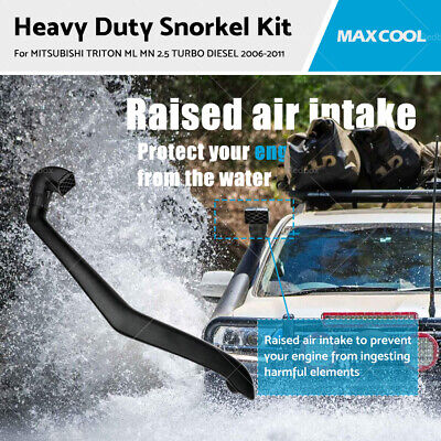 AU115 • Buy Snorkel Kit Fits MITSUBISHI TRITON ML MN 2.5 TURBO DIESEL 2006-2011 Air Intake