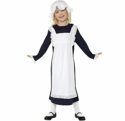 £8.95 • Buy Children Victorian Poor Girl Fancy Dress Costume Childs Outfit By Smiffys
