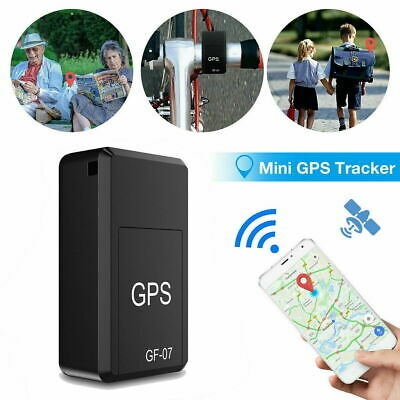 Magnetic Mini GPS Tracker Car Spy GSM GPRS Real Time Tracking Locator Device UK • 10.99£