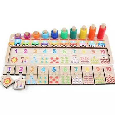 Montessori Preschool Educational Wooden Toy/puzzle Gift For 3 Years Old • 11.99£